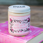 Will You Be My Bridesmaid? (Pink) Soy Candle