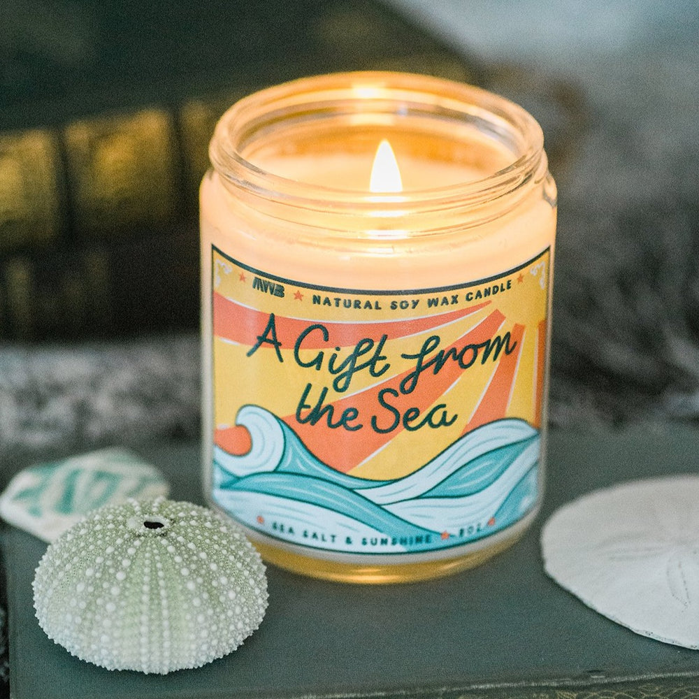 A Gift From the Sea Soy Candle