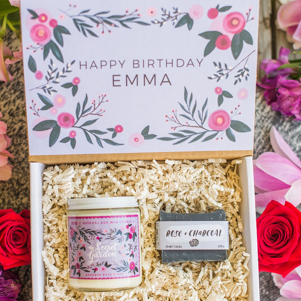 Custom Personalized Happy Birthday Gift Box