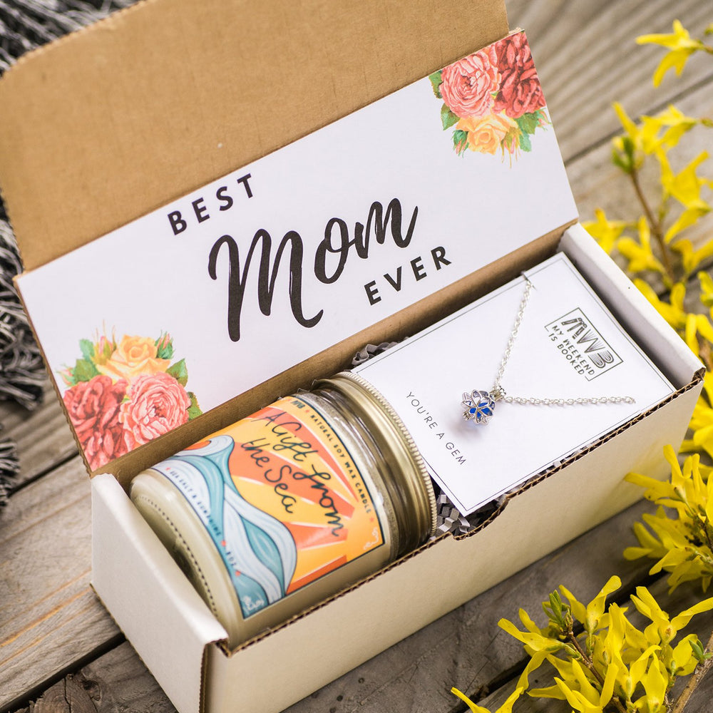 Custom Candle and Necklace Gift Box