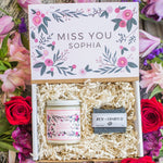 "Custom Personalized ""Miss You"" Gift Box"