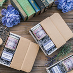 Natural Soy Candle Gift Box for Book Lovers, Secret Garden