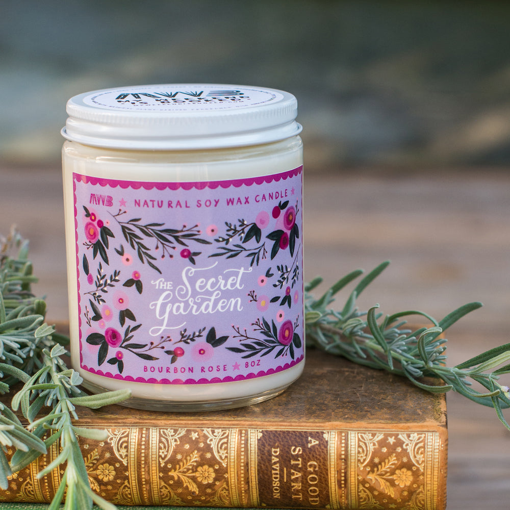The Secret Garden (Purple) Soy Candle