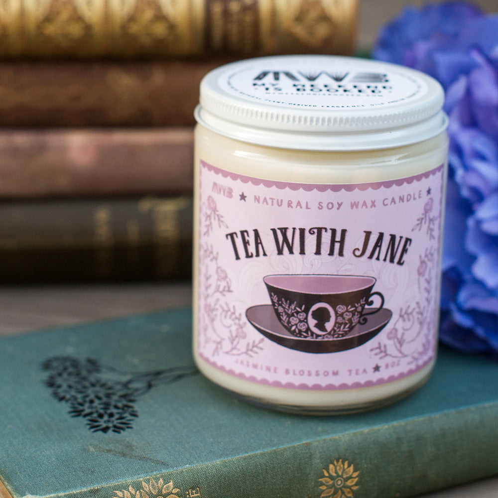 Tea With Jane (Purple) Soy Candle