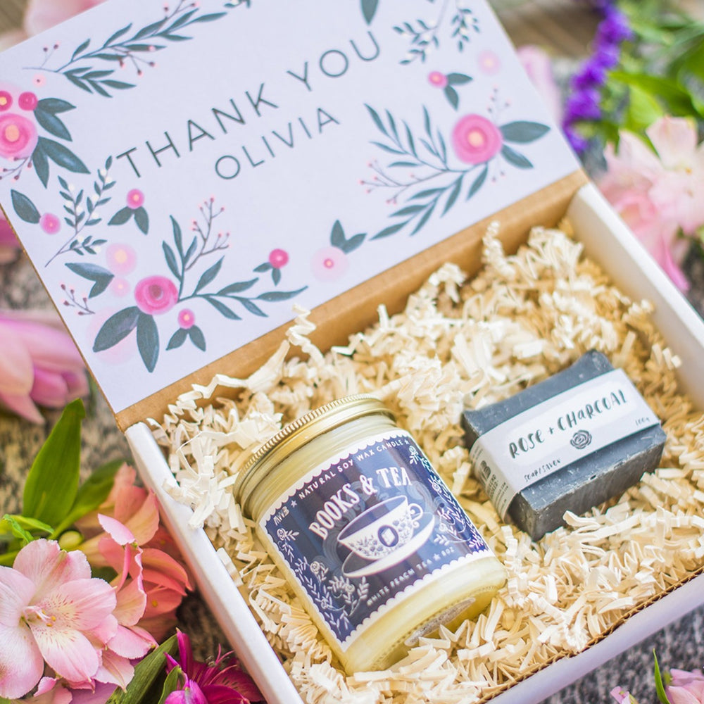 Custom Personalized Thank You Gift Box