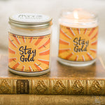 Stay Gold Soy Candle