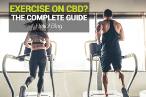 Can You Exercise While Taking Hello Hemp CBD Oil?