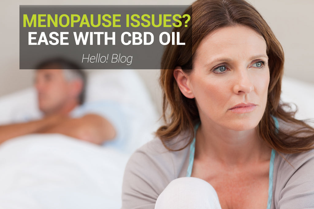 Ease Your Menopause With CBD OIl