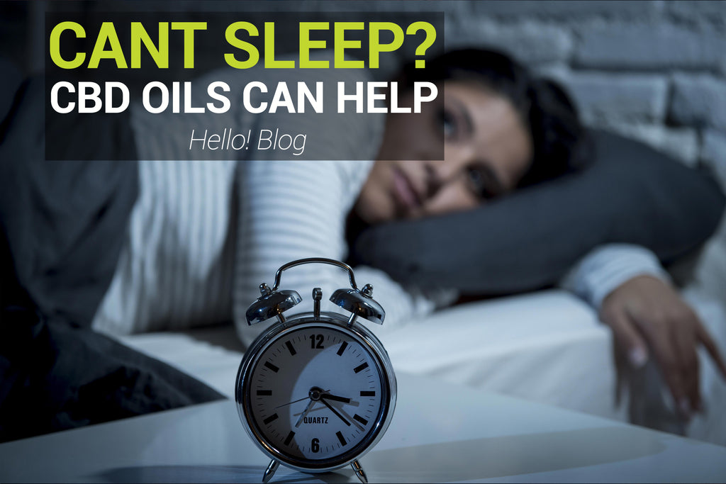 Cant Sleep?  Why Not Try CBD?