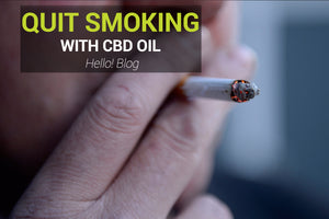 Stop Smoking With CBD OIl