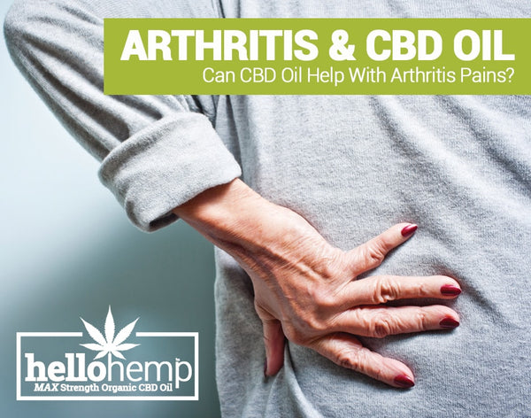 CBD OIL & ARTHRITIS - Can it help?