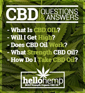 Hello Hemp CBD Oil FAQ