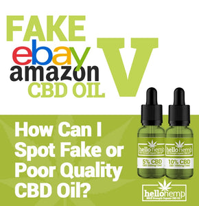 How To Spot Fake CBD Oil