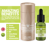 Hello Hemp CBD Oil 5% 500mg Amazon Benefits