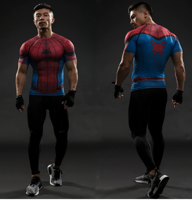 "Your ""Superhero"" elastic workout tshirt"