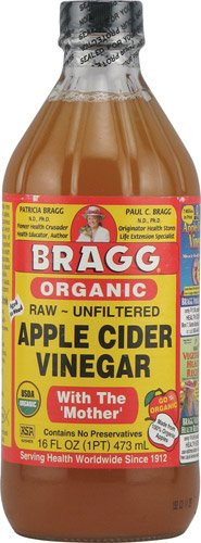 Bragg Organic Raw Apple Cider Vinegar With The 'Mother' , 2x16 fl oz