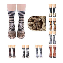 Animal Paw Socks 3D Print (women, boys, girls)