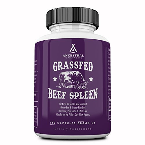 Ancestral Supplements: NZ Grass Fed Beef Spleen (Dried)