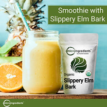 Organic Slippery Elm Bark Powder, Sustainably Grown, 1 Pound