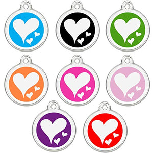 Colourful & Groovy Pet ID Tags with Enamel