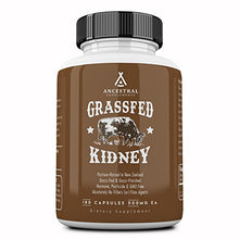 Ancestral Supplements: NZ Grass Fed Kidney (dried, 180 Capsules)
