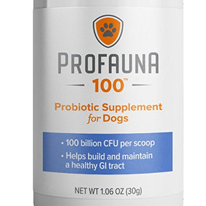 Probiotic Supplement for Dogs, 100 BILLION CFU per 1 gram