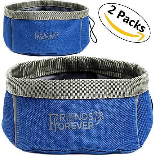 Collapsible Water Bowl - 2 Pack