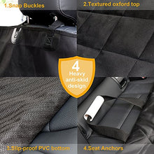 Car Seat Cover for Pets - Scratch Proof & Nonslip, Quilted, Padded, Durable