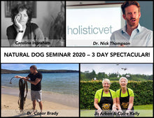 Natural Dog Seminar Ireland 2020 - New 3 Day Event!!!