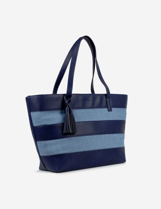 Nautical Tote - Denim