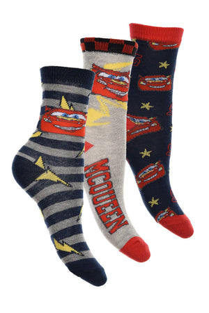 Cars - 3er Pack Socken - Wonderland World