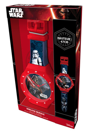 Star Wars Jumbo Wanduhr - 47cm - Wonderland World