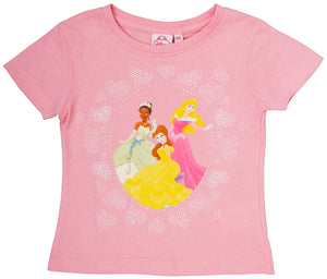 Disney Princess T-Shirt - Rosa - Wonderland World