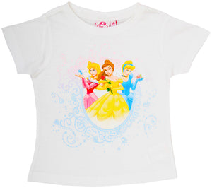 Disney Princess T-Shirt - Weiß - Wonderland World