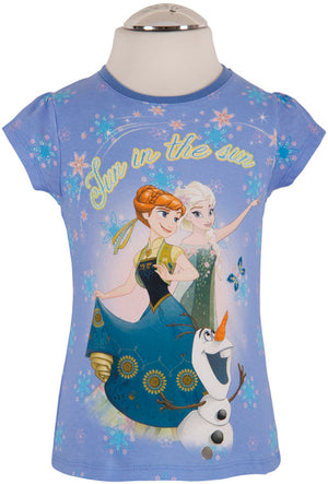 Frozen T-Shirt - Blau - Wonderland World