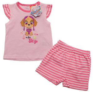 Paw Patrol Baby Sommer Set - T-Shirt + kurze Hose - Wonderland World