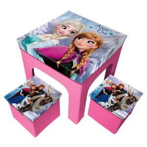 Frozen Sitzgruppe Tisch + 2 Hocker - Wonderland World