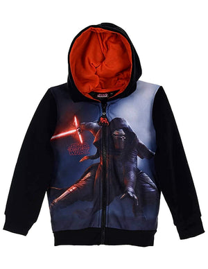 Star Wars Sweatjacke mit Kapuze - schwarz - Wonderland World