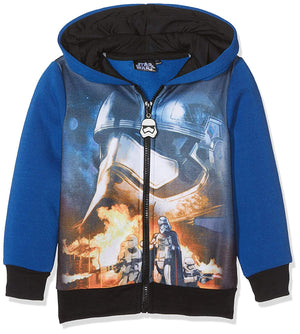 Star Wars Sweatjacke mit Kapuze - blau - Wonderland World