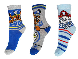 Paw Patrol - 3er Pack Socken - Wonderland World