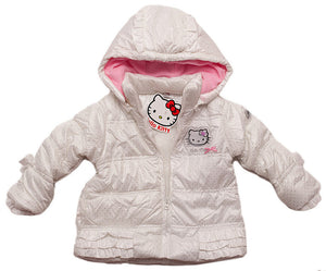 Hello Kitty Winterjacke - Weiß - Wonderland World