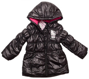 Hello Kitty Winterjacke - Schwarz - Wonderland World