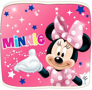 Minnie Maus Loop Schal mit Fleece - rosa - Wonderland World