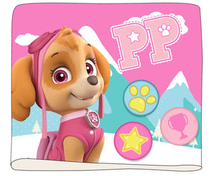 Paw Patrol Loop Schal mit Fleece - rosa - Wonderland World