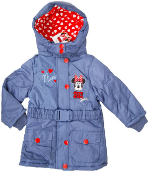 Disney Minnie Maus Winter Parker - Blau - Wonderland World