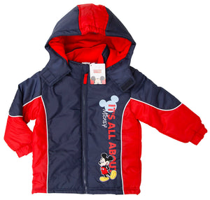 Mickey Maus Winterjacke - Rot - Wonderland World