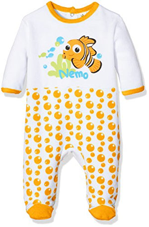 Nemo Baby Strampler - Orange - Wonderland World