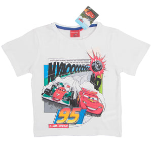Cars T-Shirt - Weiß - Wonderland World