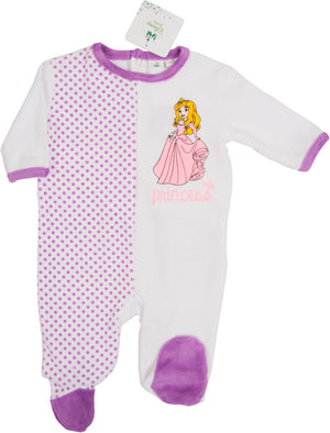 Disney Princess Baby Strampler - Lila - Wonderland World