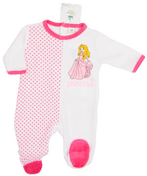 Disney Princess Baby Strampler - Rosa - Wonderland World